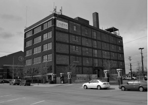 NR 115 M F Shafer Co Building bw